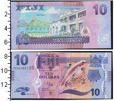 Изображение Банкноты Фиджи 10 долларов 0  UNC