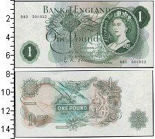 Изображение Боны Великобритания 1 фунт 0  UNC- Елизавета II
