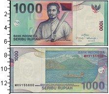 Изображение Боны Индонезия 1000 рупий 2013  UNC-