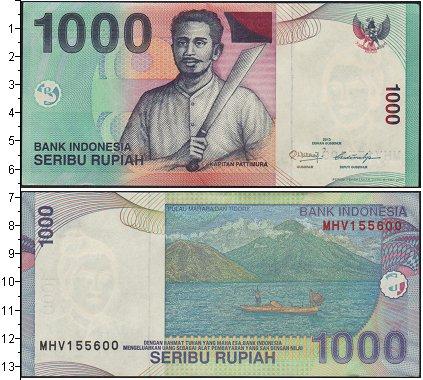 Картинка Банкноты Индонезия 1.000 рупий  2013