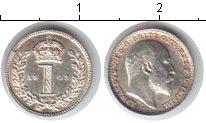 Изображение Монеты Великобритания 1 пенни 1908 Серебро XF Эдвард VII