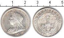 Изображение Монеты Великобритания 1 шиллинг 1893 Серебро UNC- Виктория