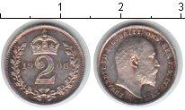 Изображение Монеты Великобритания 2 пенса 1906 Серебро XF