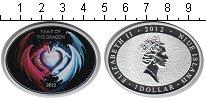 Изображение Монеты Ниуэ 1 доллар 2012 Серебро Proof-