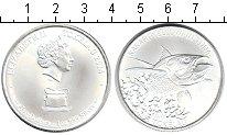 Изображение Мелочь Токелау 5 долларов 2014 Серебро UNC Желтоперый тунец