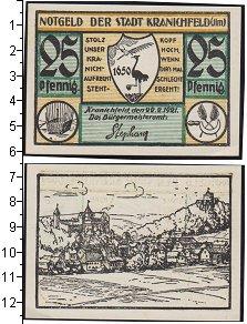 Изображение Банкноты Веймарская республика 25 пфеннигов 1921  XF