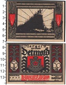 Изображение Боны Веймарская республика 50 пфеннигов 1920  XF Нотгельд.
