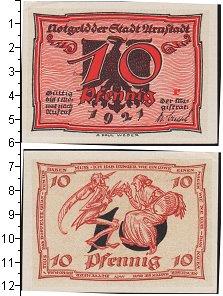 Изображение Банкноты Веймарская республика 10 пфеннигов 1921  UNC- Нотгельд.
