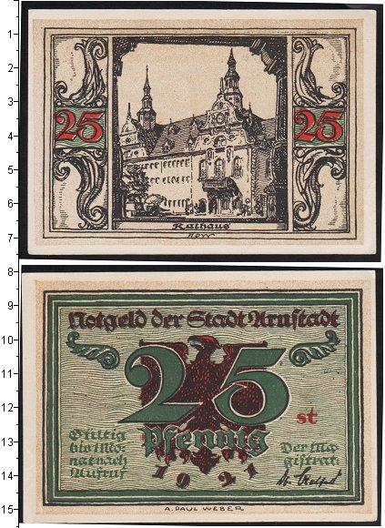 Картинка Банкноты Германия 25 пфеннигов  1921