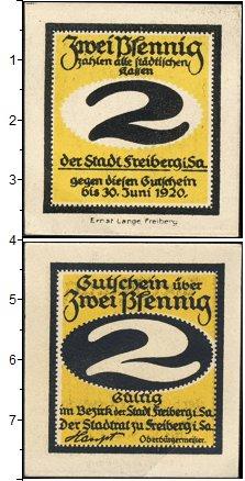Изображение Банкноты Германия : Нотгельды 2 пфеннига 1920  XF Нотгельд
