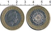 Изображение Монеты Великобритания 2 фунта 1998 Биметалл  Елизавета II