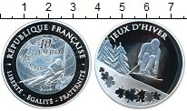 Изображение Монеты Франция 10 евро 2009 Серебро Proof Олимпийские игры-201