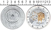 Изображение Монеты Руанда 1000 франков 2009 Серебро UNC Телец.