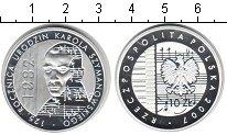 Изображение Монеты Польша 10 злотых 2007 Серебро Proof- Жимановский
