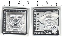 Изображение Монеты Польша 10 злотых 2009 Серебро Proof История польской поп