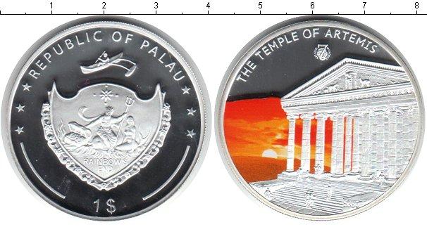 Картинка Монеты Палау 1 доллар Посеребрение 2009