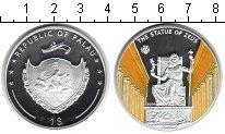 Изображение Монеты Палау 1 доллар 2009 Посеребрение Proof 7 чудес Света.