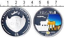 Изображение Монеты Палау 5 долларов 2009 Серебро Proof 20-летие падения Бер