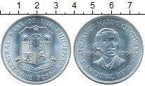 Изображение Монеты Филиппины 1 песо 1964 Серебро Proof- 100-летие Аполинарио