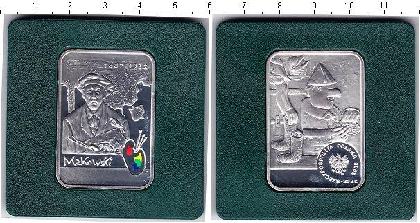 Картинка Монеты Польша 20 злотых Серебро 2005