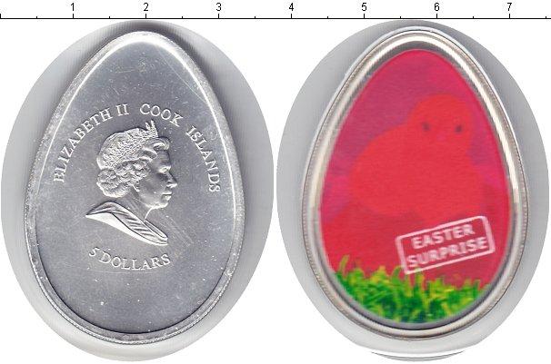 Картинка Монеты Острова Кука 5 долларов Серебро 2009