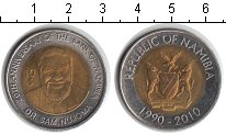 Изображение Мелочь Намибия 10 долларов 2010 Биметалл XF