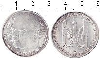Изображение Мелочь ФРГ 5 марок 1978 Серебро UNC-