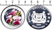 Изображение Монеты Сингапур 5 долларов 2009 Серебро Proof-