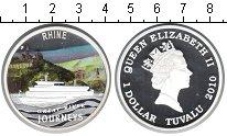 Изображение Монеты Тувалу 1 доллар 2010 Серебро Proof Крупнейшие реки мира