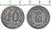 Изображение Монеты Франция 10 сантим 1921 Алюминий  Жетон г. Эвре