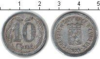 Изображение Монеты Франция 10 сантим 1921 Алюминий XF Жетон г. Эвре