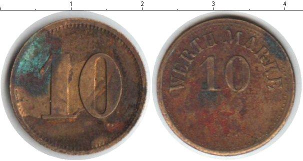 Картинка Монеты Германия 10 марок  0