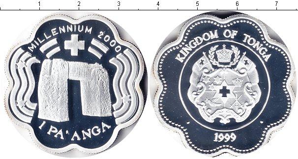 Картинка Монеты Тонга 1 паанга Серебро 1999