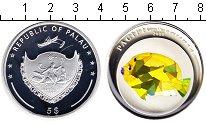 Изображение Монеты Палау 5 долларов 2009 Серебро Proof- рыбка