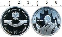Изображение Монеты Польша 10 злотых 2001 Серебро Proof 100-летие со дня рож