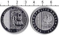 Изображение Монеты Польша 10 злотых 2007 Серебро Proof