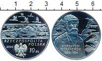 Изображение Монеты Польша 10 злотых 2004 Серебро Proof Польские Путешествен