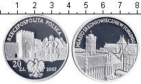 Изображение Монеты Польша 20 злотых 2007 Серебро Proof-