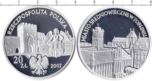 Картинка Монеты Польша 20 злотых Серебро 2007