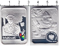 Изображение Монеты Польша 20 злотых 2005 Серебро Proof- Маковский