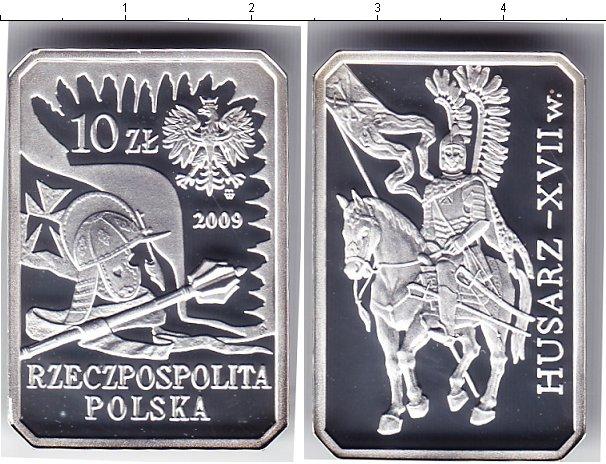 Картинка Монеты Польша 10 злотых Серебро 2009