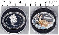 Изображение Монеты Ниуэ 1 доллар 2011 Серебро Proof- Елизавета II. Год за
