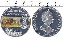 Изображение Мелочь Остров Святой Елены 25 пенсов 2013 Посеребрение Proof- Елизавета II. Войны
