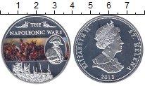 Изображение Мелочь Великобритания Остров Святой Елены 25 пенсов 2013 Посеребрение Proof-