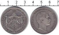 Изображение Монеты Баден 1 талер 1858 Серебро XF Фридрих