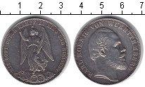 Изображение Монеты Вюртемберг 1 талер 1871 Серебро XF Карл