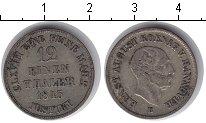Изображение Монеты Ганновер 1/12 талера 1845 Серебро  Эрнест Август.