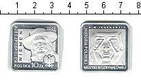 Изображение Монеты Польша 10 злотых 2009 Серебро Proof- Нейман