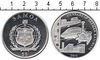 Изображение Монеты Самоа 5 долларов 2010 Серебро Proof- 175-летие немецким ж