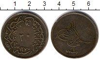 Изображение Монеты Турция 20 пар 1277 Медь XF-
